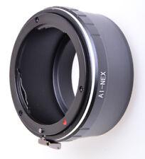Nikon Nikkor Lente a Sony NEX Mount Adapter Ring NEX-5R NEX-6 NEX-7 NEX-F3 VG900