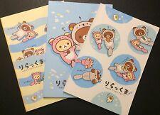 Rilakkuma Otter Notebooks - Kawaii Korean Stationery - journal blank diary