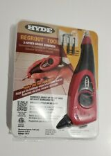 Hyde Tools 19500 Regrout Tool 3-Speed Electric Grout Remover NEW (Other)