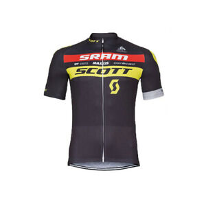 Mens Team Short Sleeve Cycling Brown Jersey Bicycle Full Zip Racing Shirt Bike