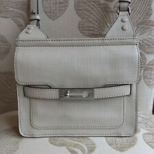 French Connection 'Willow White' Leather Cross Body/ Shoulder Bag - RRP £165