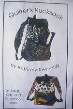 Quilters Rucksack Bag Quilt Fabric Kit by Bethany Reynolds - Hoffman Fish Theme