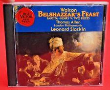 RCA VICTOR:  WALTON:   BELSHAZZAR'S FEAST  / THOMAS ALLEN - GREAT CONDITION!