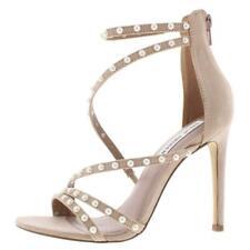 Steve Madden Womens Meg Pink Dress Sandals Shoes 7.5 Medium (B,M) BHFO 1206