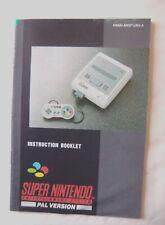 55013 Instruction Booklet - Super Nintendo Console - Nintendo SNES (1992) HW(A)-