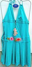 ladies speedo rosa cha' green swim / sun dress - size L (14)
