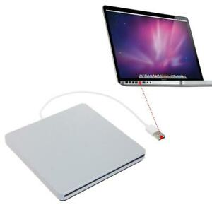 External USB CD DVD RW Drive Enclosure Case for Macbook Pro Air Optical Drive