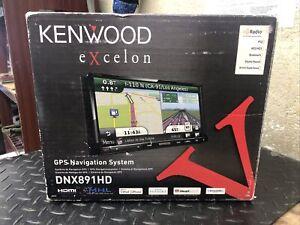 KENWOOD EXCELON DNX891HD 2/DIN NAVIGATION GPS DVD RECEIVER HDMI & MML System