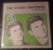 """EVERLY BROTHERS ALBUM""""GREATEST HITS"""" 2 RECORDS FROM PORTUGAL MINT"""