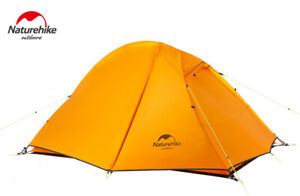 NatureHike 2 Person Double Layer Ultralight Tent Outdoor Waterproof Tent Camping