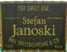 Large Nike Sb Stefan Janoski Skateboarding Window Sticker 17 x 23