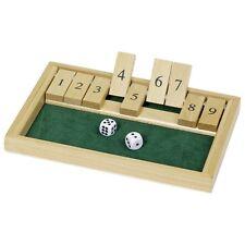 Shut the box Würfelspiel aus Holz Auswahl WG175, HS075, HS185, 2116 goki Legler