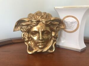 Extra Large Medusa Head Wall Plaque - Solid Bronze