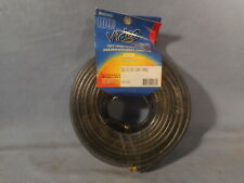 100' Rg6 Coaxial Coax Cable Wire w/ Gold Plated Connectors Satellite Tv Antenna