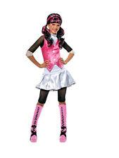 Niñas Draculaura Monster High School Vestido Elaborado Disfraz De Halloween Traje Niños