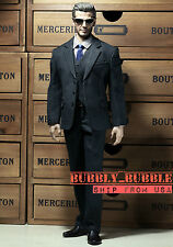 1/6 Men Business Tie Suit Set B For Hot Toys Phicen Male Figure ☆SHIP FROM USA☆