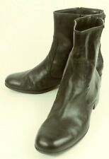 Etienne Aigner WYLE Womens Boots Ankle US 8.5 M Black Leather Casual 108