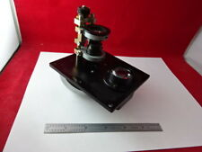 BAUSCH LOMB NOSEPIECE ASSEMBLY MICROSCOPE PART PRECISION OPTICS AS IS #F3-A-15