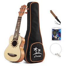 Donner DUS-3 21 Inch Concert Ukulele Ukelele Hawaii Guitar Mahogany Bag