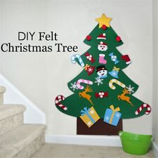 Kids DIY Felt Christmas Tree Christmas Gifts for 2018 New Year Xmas Decor