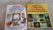 2 Antque and collectibles price guide books