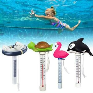 Spa 0-50℃ Gauge Water Floating Pool Fish Swimming Pond Cartoon Thermometer Tool