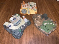 Star Wars Micro Machines Playset Lewis Galoob Toys 1995-1997 Lot of 3