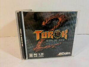 Turok 2: Seeds of Evil (PC, 1998) Authentic Game Tested WORKS