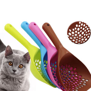 Cat Litter Scoop Thicken Large Kitty Litter Scoop Pet Poops Scooper Cleanup Tool
