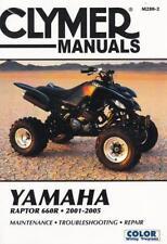 2001 2002 2003 2004 2005 Yamaha Raptor 660R ATV Service Repair Manual M2802