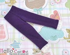 ☆╮Cool Cat╭☆【PT-L06】Pullip Capri Leggings/Pants/Trousers with Lace # Deep Purple
