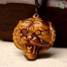 Tiger eye Shi Shengxiao belong to tiger and natural jade pendant pendant
