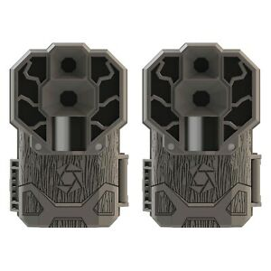 Stealth Cam 30MP High Res 4K HD No Glo IR Game Trail Camera, 2 Pack   STC-DS4K