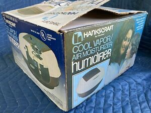 Vintage Gerber Hankscraft Humidifier 3972 With Box & Instructions - Works!