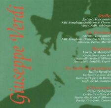 CD NEUF scellé- VERDI - COFFRET 5 OPERAS : Otello, La Traviata, Rigoletto-Co 200