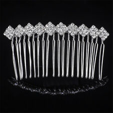 Fashion Women's Crystal Comb Diamond Hair Comb Clip  Alloy Hair Accessories