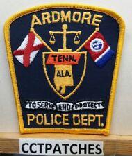 ARDMORE, ALABAMA TENNESSEE POLICE SHOULDER PATCH AL TN