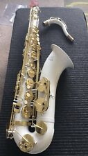 Tenor saxophone  Ghost white lacquer