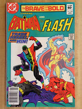 THE BRAVE AND THE BOLD #194 VF 1983 Batman And The Flash Lego Expert Builder Ad!