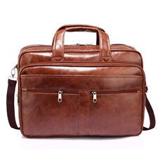 Ladies Handbag Unisex Brown Laptop Office Bag 00543