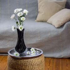 10  x Blumenvase schwarz faltbar Folie Kunststoff  Faltvase Tischvase