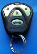 TESTED Avital Fcc EZSDEI474S RPN474L Keyless Entry Remote 4 Button Green LED