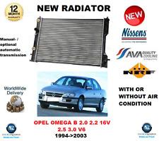 FOR OPEL OMEGA B 2.0 2.2 16V 2.5 3.0 V6 1994-2003 ENGINE RADIATOR * OE QUALITY *