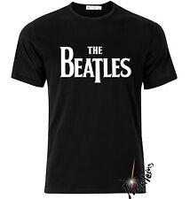 Camiseta LOS BEATLES THE tshirt t-shirt mujer niño xxl BARATA negra black girl