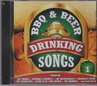 BBQ & BEER DRINKING SONGS - VOL 1 - VARIOUS ARTISTS - CD - NEW -