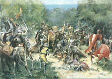 Postcard - Crusader Counter-attack at Arsuf (1191)
