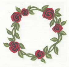 Belly Button RED ROSES VINE Temporary Tattoo