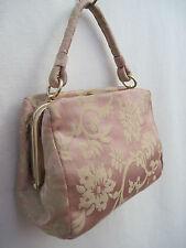 -AUTHENTIQUE  mini sac de soirée BANANA REPUBLIC  soie TBEG   bag vintage
