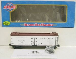 Atlas 8156-4 Lackawanna 40' Reefer Car [3Rail] NIB
