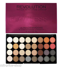 Makeup Revolution Ultra 32 Eyeshadow Palette Matte and Shimmers  Flawless 2